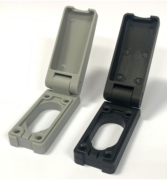 Cylinders Lock Dust cover with Spring loaded flaps Protection.