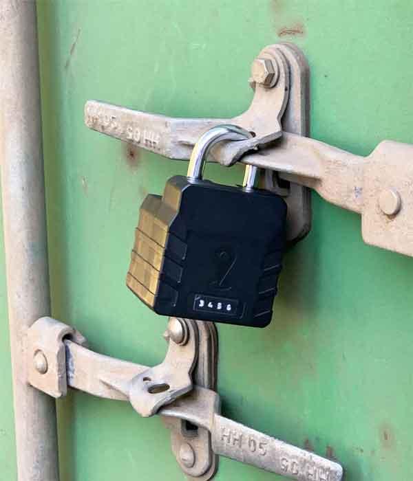 axoLOCK - GPS Padlock ABLOY security